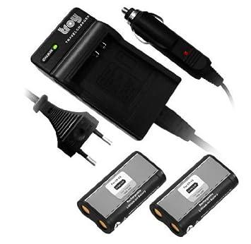 Troy 2 x Batería + Cargador para RCR de V3 CR-V3 CRV3 CR-V3P
