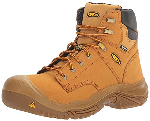 KEEN Utility Mens MT Vernon 6 Waterproof, Trigo, 40 2E EU/6.5 2E UK