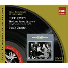 Late String Quartets by Beethoven (2008-03-11)