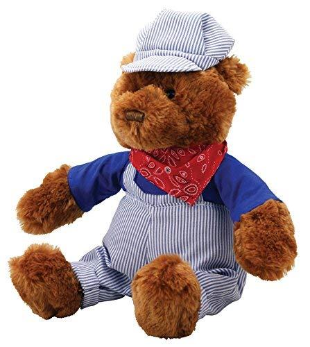 Ohio Classic Hat - Cuddle Zoo Classics - Casey The Train Engineer Bear