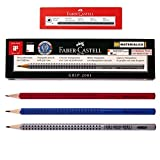 Faber Castell Eco Pencil Grip 2001 (Pack of 12) 3 Color Body-hb