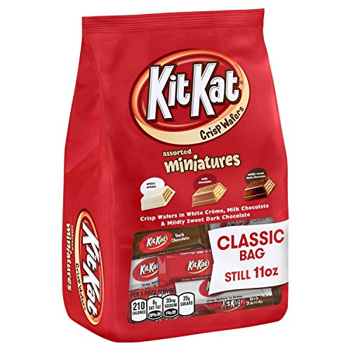Kit Kat Assorted Miniatures Classic Bag , 11oz - 2 Pack ()