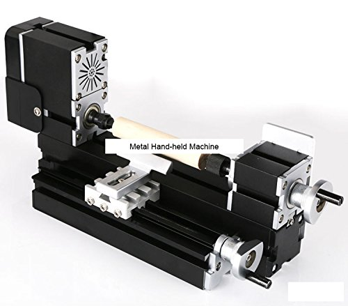 TZ20003MP 60W Electroplated Metal Wood-turning Lathe/60W,12000rpm Electroplating wood working lathe by MUCHENTEC
