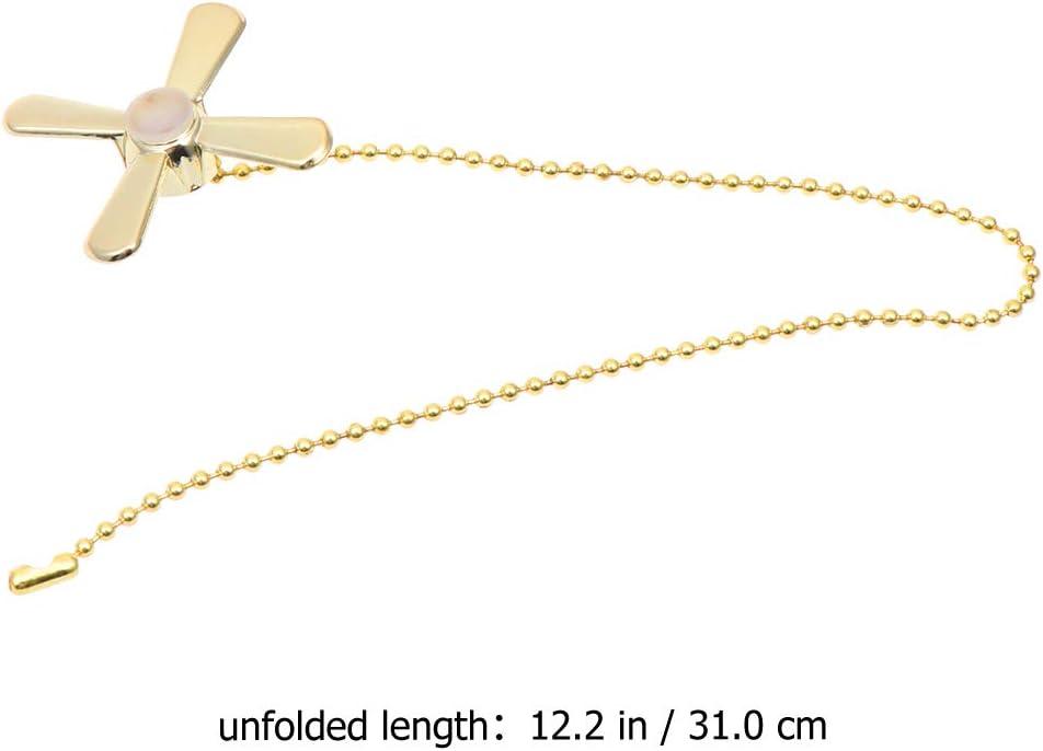 con catenella e connettore Catena per ventilatore da soffitto OSALADI metallo dorato Taglia 1