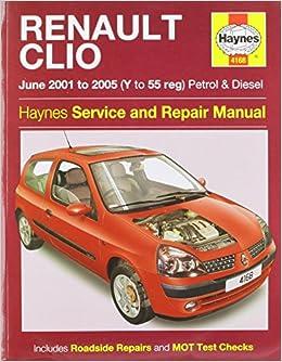 Book Renault Clio Service and Repair Manual (Haynes Service and Repair Manuals) by A K Legg (3-Jul-2014)
