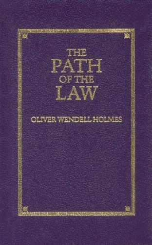 The Path of the Law (Little Books of Wisdom) [Oliver Holmes Jr.] (Tapa Dura)