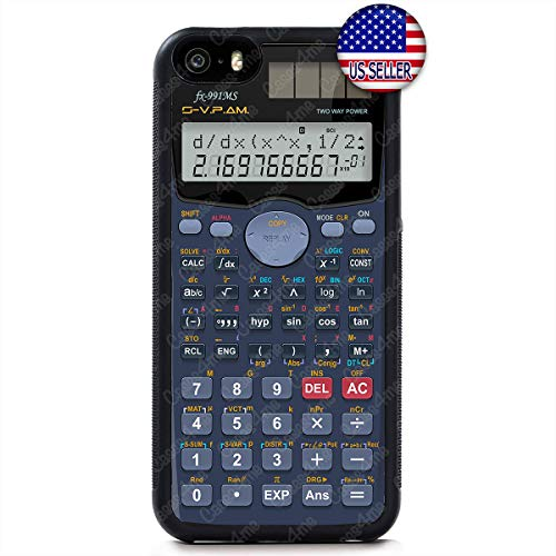 Funny Old School Scientific Calculator Numbers Shockproof Rubber Custom Case Cover for iPhone X Xs Max XR 8 Plus 7 6