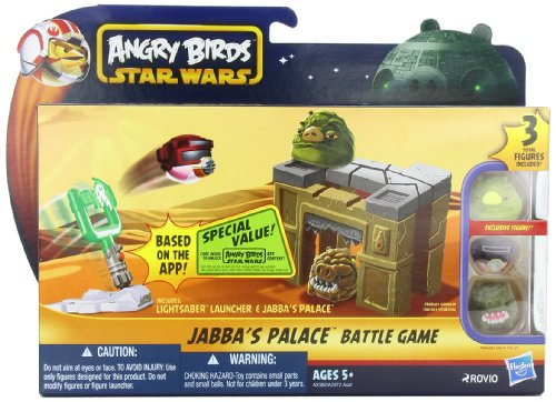 (Angry Birds Star Wars Jabba's Palace Battle)