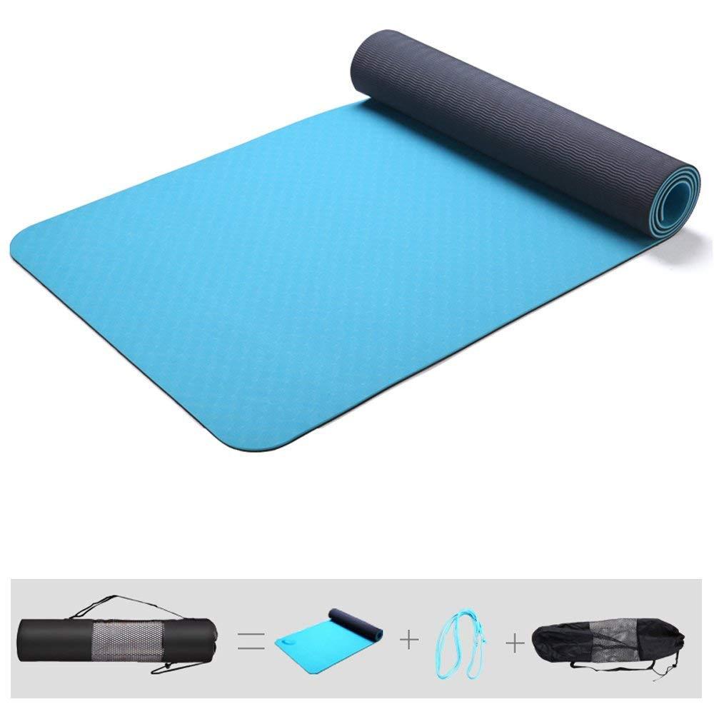 MEIDI Home Dünnschliff Fitness geruchlos Rutschfeste Anfänger erweiterte Yoga-Matte