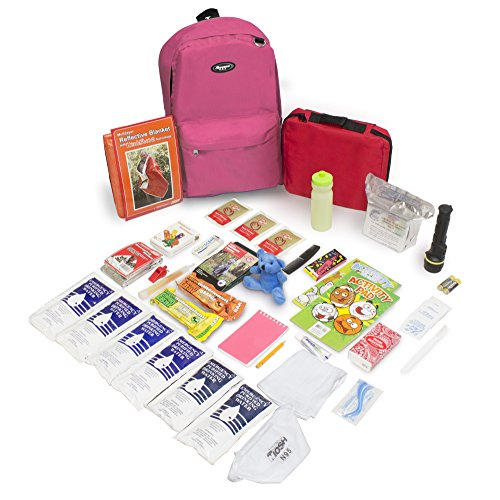 Emergency Zone Keep-Me-Safe Children s Deluxe 72-Hour Emergency Survival Kit Perfect Way to Prepare Your Family for Disasters Like Hurricanes, Earthquake, Wildfires, and More