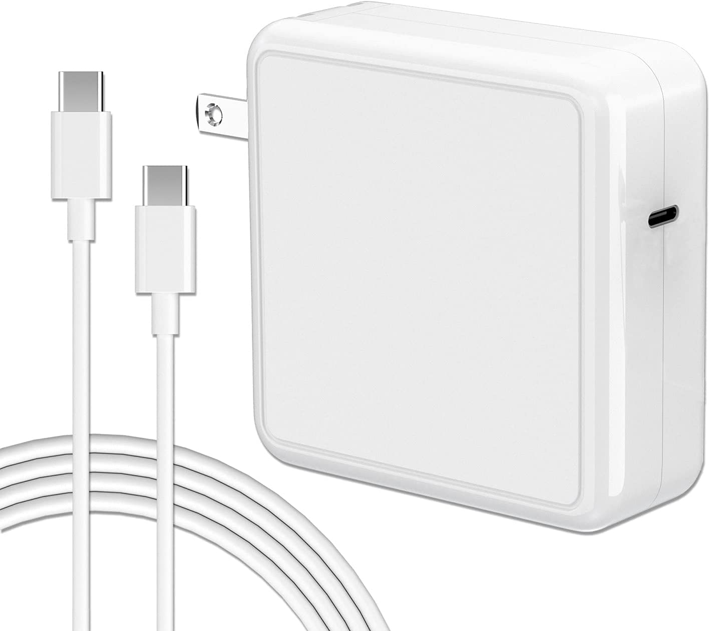 87W USB C Charger Power Adapter Compatible with Mac Book Pro 13 Inch 15 Inch 2020 2019 2018 Include Charge Cable…