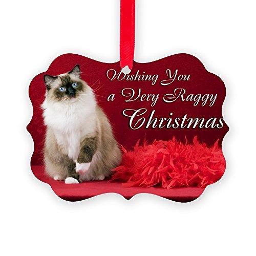 Rag Doll Cat Ornament - CafePress Ragdoll Cat Christmas Christmas Ornament, Decorative Tree Ornament