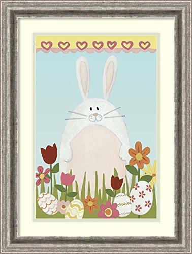 Framed Art Print 'Easter Sweeties II' by June Vess