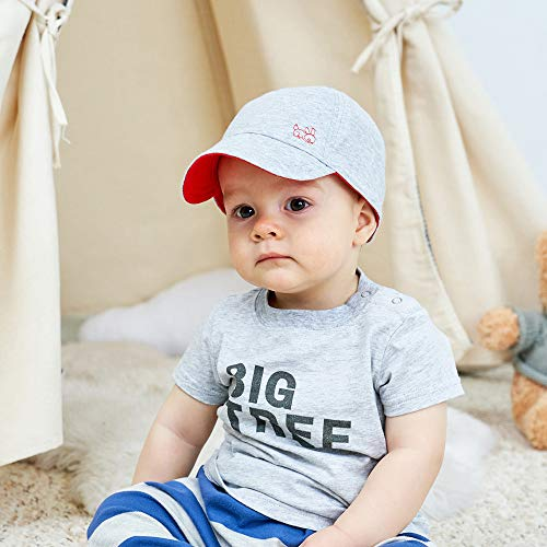 ad155c40c4d Keepersheep Baby Reversible Baseball Cap Infant Sun Hat