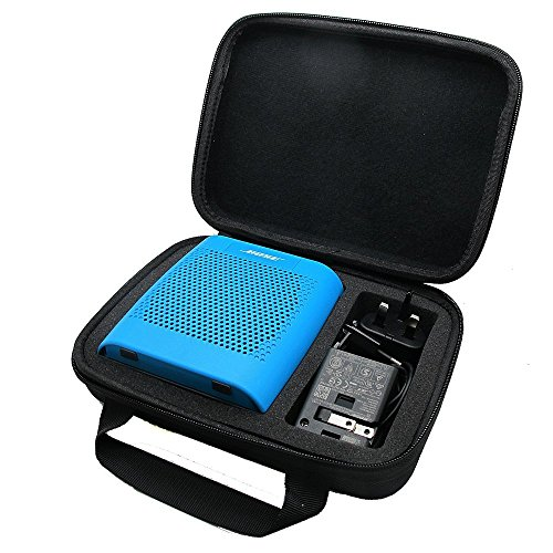 co2CREA(TM) for Bose Soundlink Color Wireless Bluetooth Speaker Semi-Hard EVA Carrying Travel Storage Case Bag (Storage Case Black)
