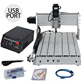 ZTPOWER 3 AXIS CNC Router Engraver 3D Engraving Drilling Milling Machine Desktop Kit 300W 3040