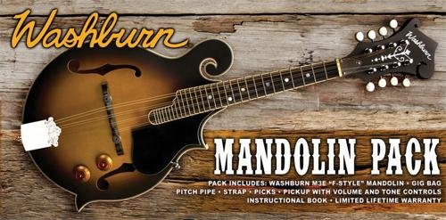 Washburn M3E Mandolin Pack
