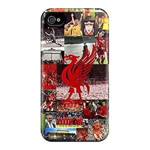 Deeck HvX1144YFAq Protective Case For Iphone 4/4s(fc Of England Liverpool)