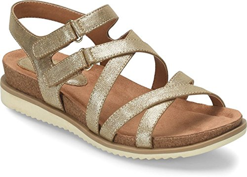 Sofft Gold Sandals - Eurosoft - Womens - Lina
