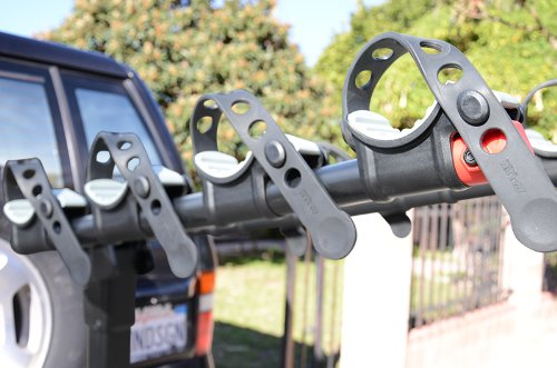 Allen Sports Premier Hitch Mounted 4-Bike Carrier for Vehicles with External Spare Tires by Allen Sports (Image #2)