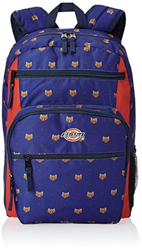 Dickies Double Deluxe 24 ltrs Red and Blue Casual Backpack (I-27094-BKP008401001)