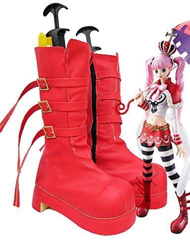ティッシュ制限アベニューOne PieceアニメPeronaコスプレ靴ブーツカスタムMade