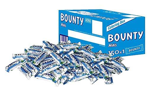 Bounty Minis, 1 Packung mit 150 Riegeln (1 x 4,320 g)