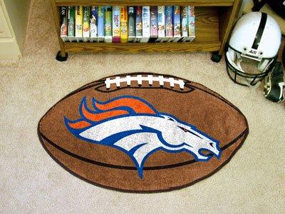 Denver Broncos Floor Rug (NFL Denver Broncos Football Mat)