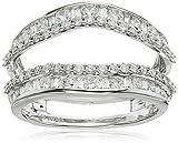 14k White Gold Diamond Ring (1 cttw), Size 7