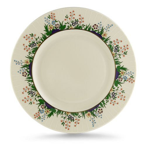 Lenox Rutledge Gold Banded Ivory China 9 Accent Plate (Plate China Accent 9 Ivory)