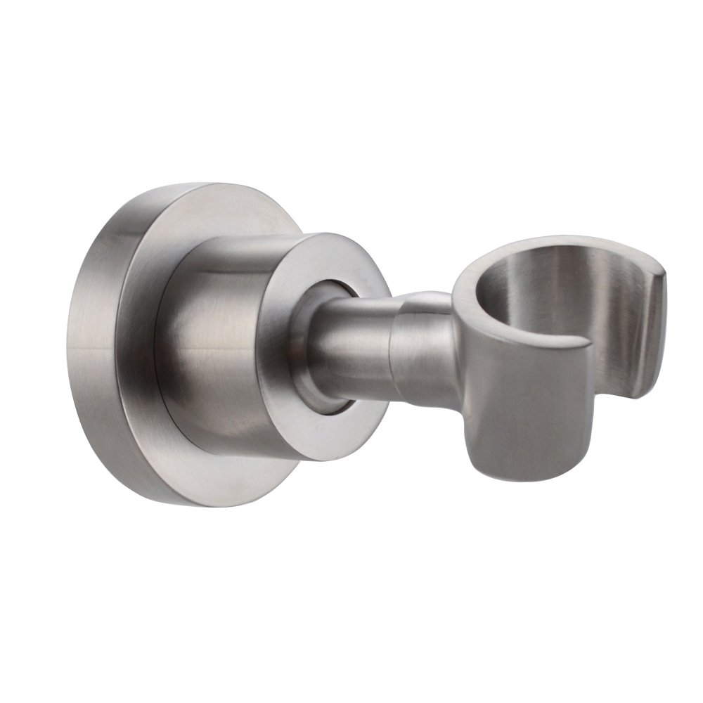 KES Solid Heavy Shower Head Bracket Holder Adjustable Wall Mount C214-2 Brushed SUS304 Stainless Steel