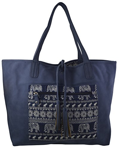 Reversible Hobo Handbag - 3