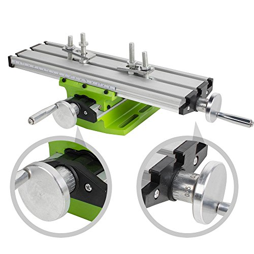 Multifunction Milling Machine Cross Sliding Table Vise For DIY Lathe Bench Drill by Carejoy
