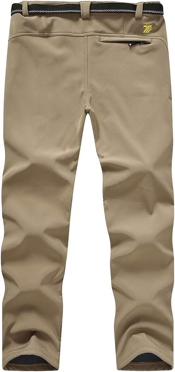Gopune Mens Waterproof Ski Snow Pants Warm Hking Winter Insulated Trousers