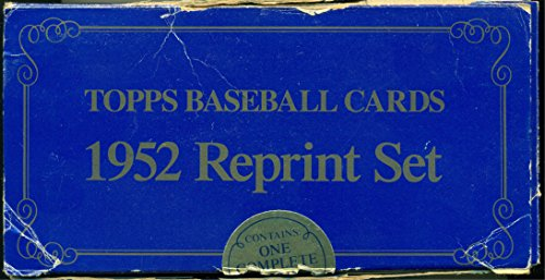 1952 Topps Baseball Complete Reprint Set from 1983 with Mickey Mantle Jackie Robinson Willie Mays in Original Box ()