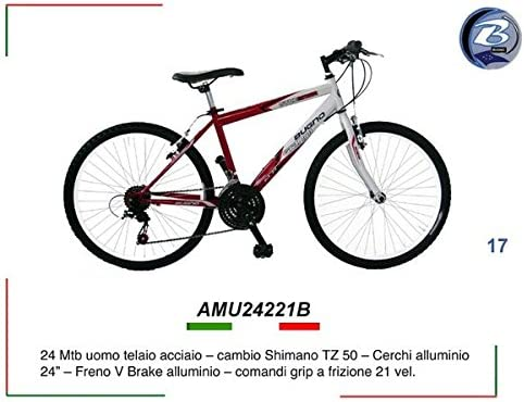 Gianni Bugno Sport Trike Mountain Bike - Bicicleta MTB, talla 24 ...