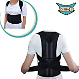 Full Back Brace Shoulder Support- Unisex Posture Corrector for Adults and Kids- Posture Support Straps- Kyphosis Brace Muscle Pain Reliever& Back Pain Reliever (S)