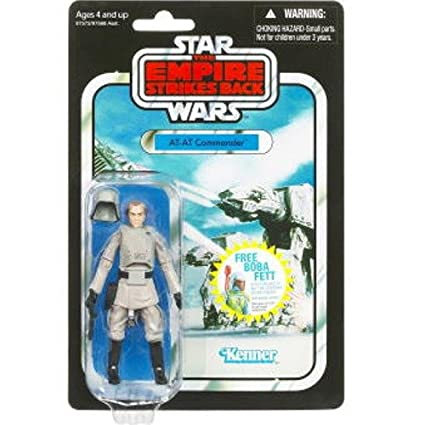 Star Wars 375 Inch Vintage Figure AT Commander