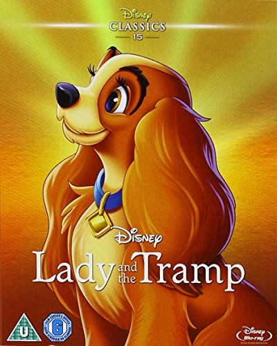 Lady and the Tramp (Limited Edition Artwork Slipcover) [Blu-ray] [Region Free]