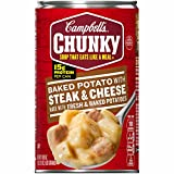 #10: Campbell's Chunky Soup, Baked Potato with Steak & Cheese, 18.8 Ounce (Packaging May Vary)