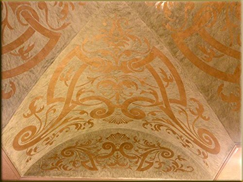 Milano Gold Metallic (Fine) Authentic Venetian Metallic Plaster from Italy. The ultimate in luxury finishes. by FirmoLux (Image #3)