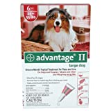 Advantage II 6 Month Dogs 21-55 Lbs (Red) @, My Pet Supplies
