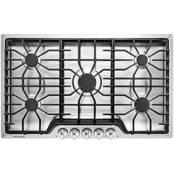 Amazon.com: zline 36 en. DropIn Cooktop con 6 quemadores de ...