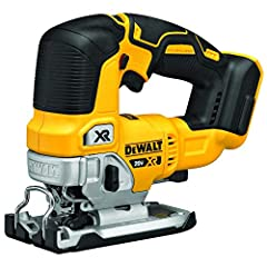 Our 20V max* xr® cordless jig saw features an efficient motor for powerful performance and extreme runtime. Precisely control blade speed up to 3, 200 SPD with the variable speed trigger and dial, for professional results No matter what you'r...