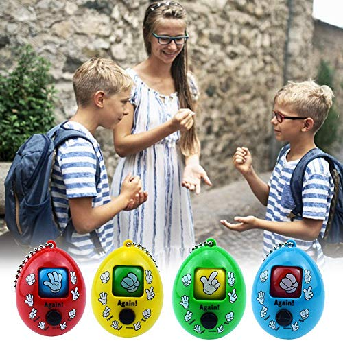 - Womdee Keychain Ring Toys, Finger-Guessing Game Toy Key Ring Decoration Toys Mora Game, Rock-Paper-Scissors Game Toys Brain Training Game Funny Toy Birthday Party Supplies for Children