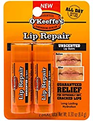 O'Keeffe's K0700432 Lip Balm Twin Pack Clear