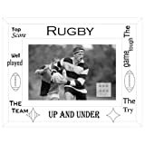 Sixtrees Moments 6 X 4 Photo Frame RUGBY