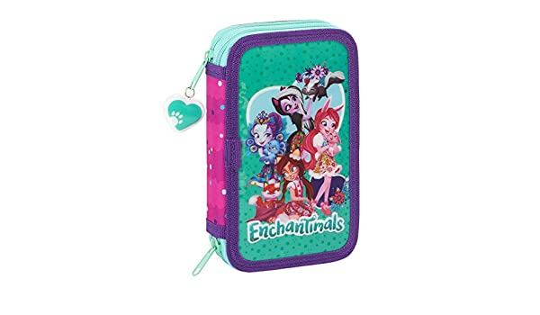 Amazon.com: Enchantimals Official School Pencil Case, 28 ...