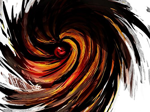 TST INNOPRINT CO Madara Eye Sharingan Naruto Anime Poster 36