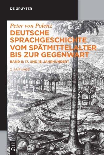 17. und 18. Jahrhundert (de Gruyter Studienbuch) (German Edition)